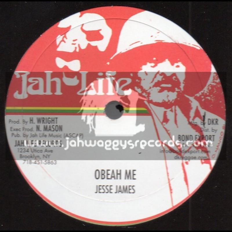 "Jah Life Records-10""-Obeah Me / Jesse James"