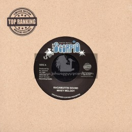 "Black Scorpio-Top Ranking Sound-7""-Ragamuffin Sound / Mickey Melody"