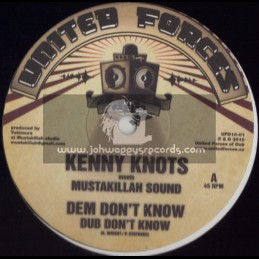 "UNITED FORCES-10""-DEM DONT KNOW / KENNY KNOTS + CONGO RIVER / VIBRONICS-SPLITZ HORNS"