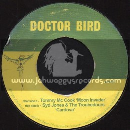 """Doctor Bird-7""""-Moon Invader / Tommy McCook + Cardova / Syd Jones And The Troubedours"""