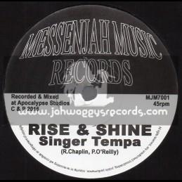 "Messenjah Music Records-7""-Rise And Shine / Singer Tempa"