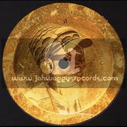 "Jarring Effects-7""-Walk The Walk / Brain Damage Feat. Ras Michael"