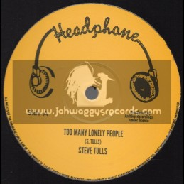 "Headphone-12""-Too Many Lonely People / Steve Tulls + Road Block / Boom Back"