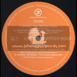 """Jarring Effects-12""""-Dub Invaders Vol 3 / Part 4"""