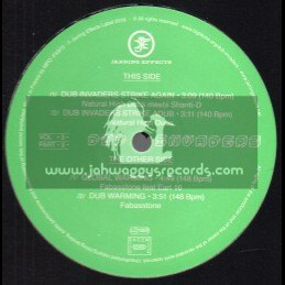 """Jarring Effects-12""""-Dub Invaders Vol 3 / Part 3"""
