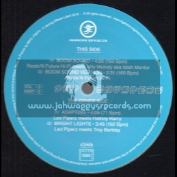 """Jarring Effects-12""""-Dub Invaders Vol 3 / Part 2"""