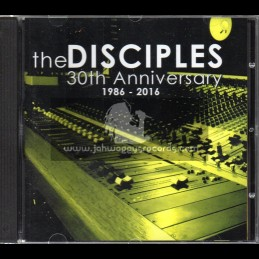 Digital Traders-Cd-The Disciples / 30th Anniversary - 1986 - 2016 - Limted Edition