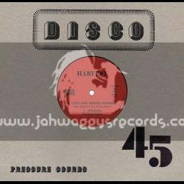 """Harvest-10""""-Love And Broad Highway / Mike Brooks & The Roots Radics + Long Long Time / Mike Brooks & The Roots Radics"""