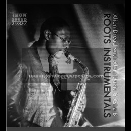 "Iron Sound Records-10""-Roots Instrumentals / Alien Dread With Alvin Davis And Asha B"