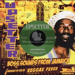 "Upsetter-7""-Downpresser / Peter Tosh And The Wailers + Downpresser Version / Righteous Upsetters"