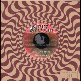 "Tuff Scout-7""-Call Your Bluff / Ella Sutton + Bluff Dub / Floyd Afrika"