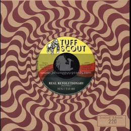 "Tuff Scout-7""-Real Revolutionary / Sun I Tafari + Dub Revolution / A. Brothers"