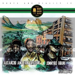 "Bent Backs Records-12""-Roots And Reality Ep - Feat. Fari Difutture , Autarchii , Jonny FigureGo Figure And B-No"