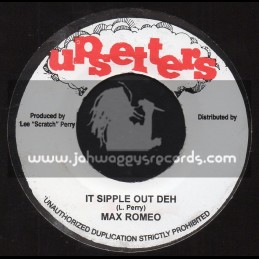 """Upsetters-7""""-It Sipple Out Deh / Max Romeo + Revelation Dub / The Upsetter"""