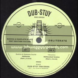 "Dub Stuy Records-12""-Obliterate / Brother Culture"