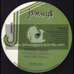 """Jammys-Jah Fingers-12""""-Stormy Night / Wailing Souls + Lovely Lady / Robert Lee"""