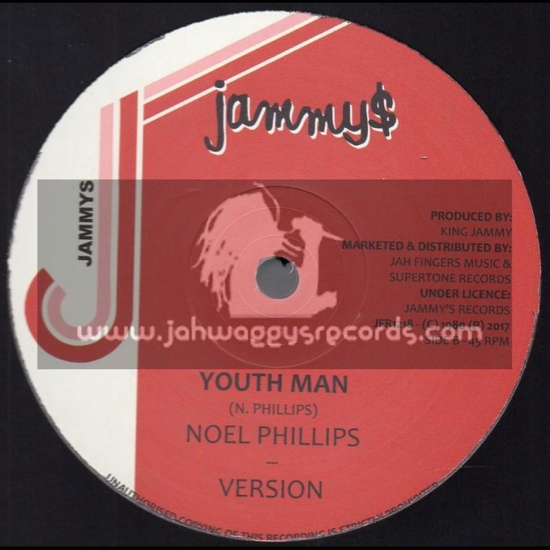 "Jammys-Jah Fingers-12""-Youth Man / Noel Phillips + Higgler Move / Junior Reid"