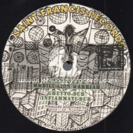 "Saint Francis Records-10""-Ghetto Life / Mr Dill Lion Warriah - Jah Massive Meets Infiammati Dub"