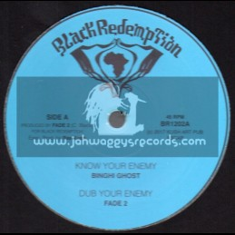 """Black Redemption-10""""-Know Your Enemy / Binghi Ghost + Emergency Brake / Fade 2"""