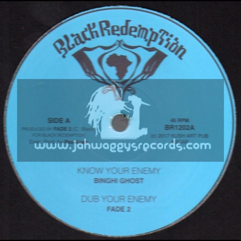 "Black Redemption-Test Press-10""-Know Your Enemy / Binghi Ghost + Emergency Brake / Fade 2"