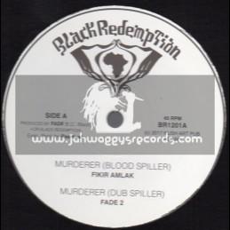 """Black Redemption-Test Press-10""""-Murderer / Fikir Amlak + Visions / Fade 2"""