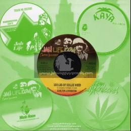 "Jah Life-7""-100 Lbs Of Collie Weed / Carlton Livingston"