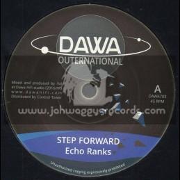 "Dawa Outernational-7""-Step Forward / Echo Ranks + Dub Forward / Dawa Hi Fi"