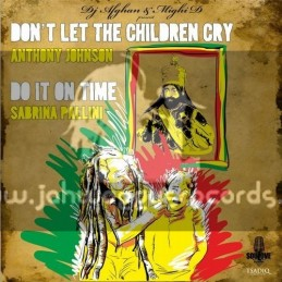 "SouLove Records-12""-Dont Let The Children Cry / Anthony Johnson + Do It On Time / Sabrina Pallini"
