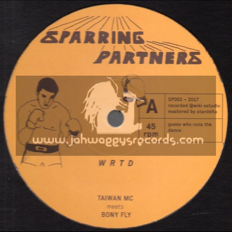 """Sparring Partners-12""""-We Ram The Dance / Taiwan Mc Meets Bony Fly"""
