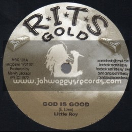 "R.I.T.S-7""-God Is Good / Little Roy + Version Is Good / Little Roy And Sound Dimension"