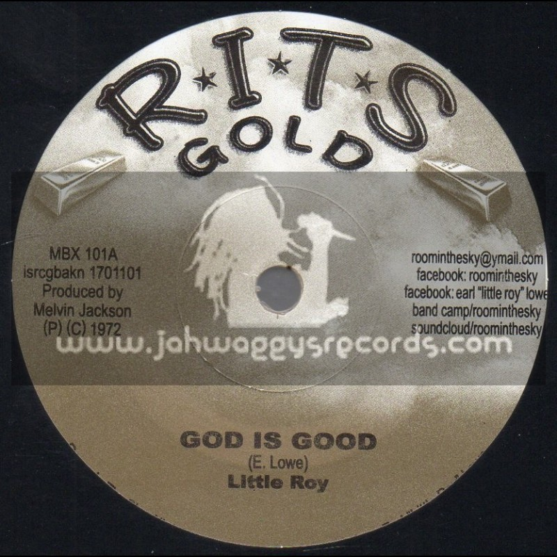 """R.I.T.S-7""""-God Is Good / Little Roy + Version Is Good / Little Roy And Sound Dimension"""