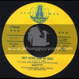 "Tobin-7""-Holy Father From The Roots / Scotty"