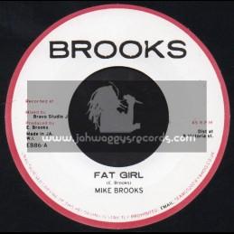 "Brooks-7""-Fat Girl / Mike Brooks"