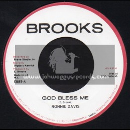 "Brooks-7""-God Bless Me / Ronnie Davis"