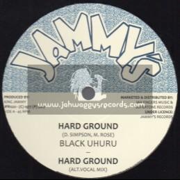 "Jammys-Jah Fingers-12""-Hard Ground / Black Uhuru"
