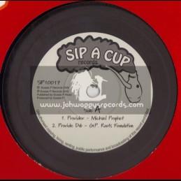 "SIP A CUP-10""-PROVIDER/MICHAEL PROPHET + SOLOMANS SUPPA/MATIC HORNS"