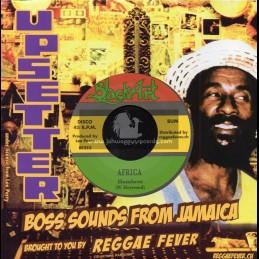 "Black Art-7""-Africa / Hombres + Foundation Dub / Upsetters"