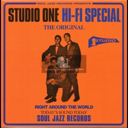 "Soul Jazz-7""-5 Disc Box Set-Studio One Hi Fi Special"