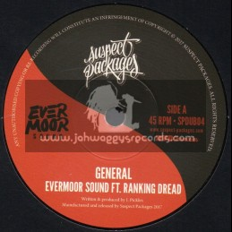 "Suspect Packages-7""-General / Evermoor Sound Feat. Ranking Dread"