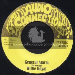 "Audio Connection-7""-General Alarm / Willie Royal + Making Tracks / Night Train"