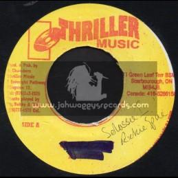"""Thriller Music-7""""-Selassie I / Richie Spice"""