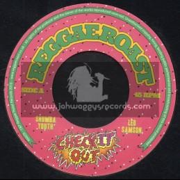 "Reggae Roast-7""-Check It Out / Shumba Youth - Leo Sampson"