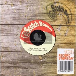 "Scotch Bonnet-7""-Rain Keeps Falling / Mungo s Hi Fi Meets Johnny Clarke"