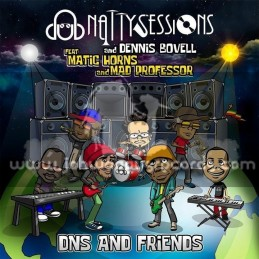 Dub Natty Sessions-Lp-DNS And Friends / Dennis Bovell, Matic Horns And Mad Professor