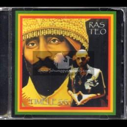 Forward Bound-CD-Timeless / Ras Teo