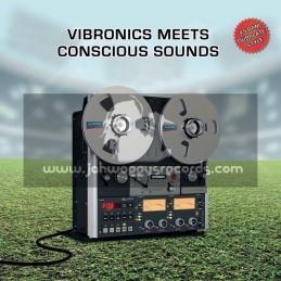 "Scoops-10""-Blaze A Fire / Vibronics Meets Conscious Sounds Feat. Sandeeno + Hail Up / Vibronics Meets Conscious Sounds"