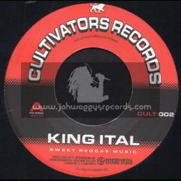"Cultivators Records-7""-Sweet Reggae Music / King Ital"