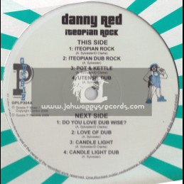 DANNY RED-ITEOPIAN ROCK-SIP A CUP EP