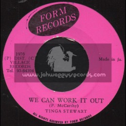 """Form Records-7""""-We Can Work It Out / Tinga Stewart"""