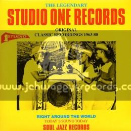 Soul Jazz Records-Double Lp-Original Studio 1 Classic Recordings 1963 - 80